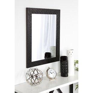 Coolidge Framed Vanity Beveled Wall Mirror by DesignOvation