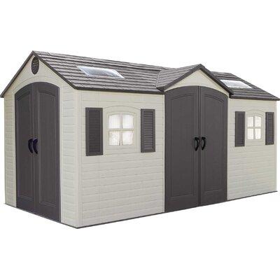 d plastic storage shed
