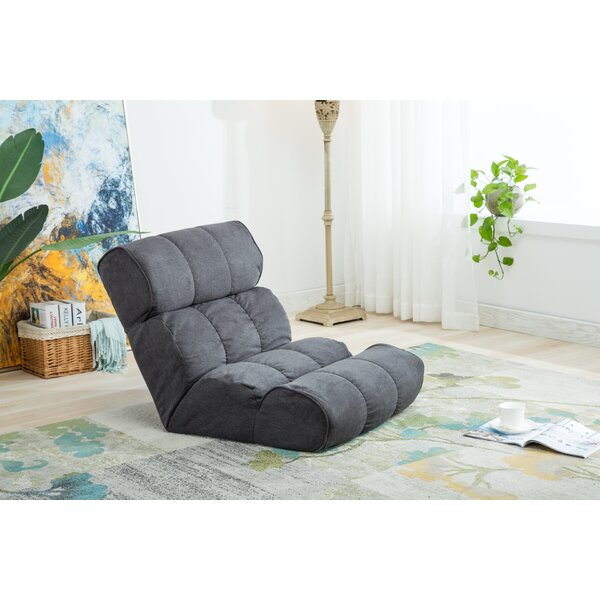 Folding Lazy Sofa and Adjustable Gaming Chair with Memory Foam by Wrought Studio