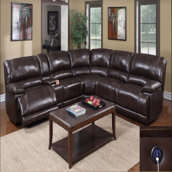 Akridge Reclining Sectional by Canora Grey