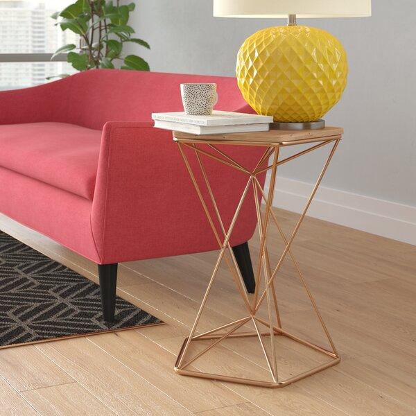 Labriola Metal End Table by Brayden Studio