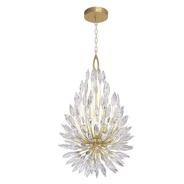 Lily Buds 6 - Light Unique / Statement Geometric Chandelier by Fine Art Lamps Fine Art Lamps