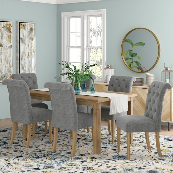 Rumi Solid Wood 7 Piece Dining Set by Mistana