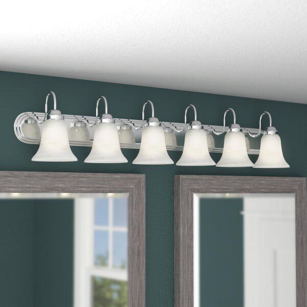 Tiverton Strip 6-Light Vanity Light by Three Posts