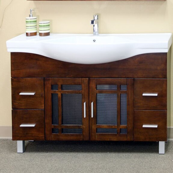 Stoddard 48 Single Bathroom Vanity Set by Bellaterra Home