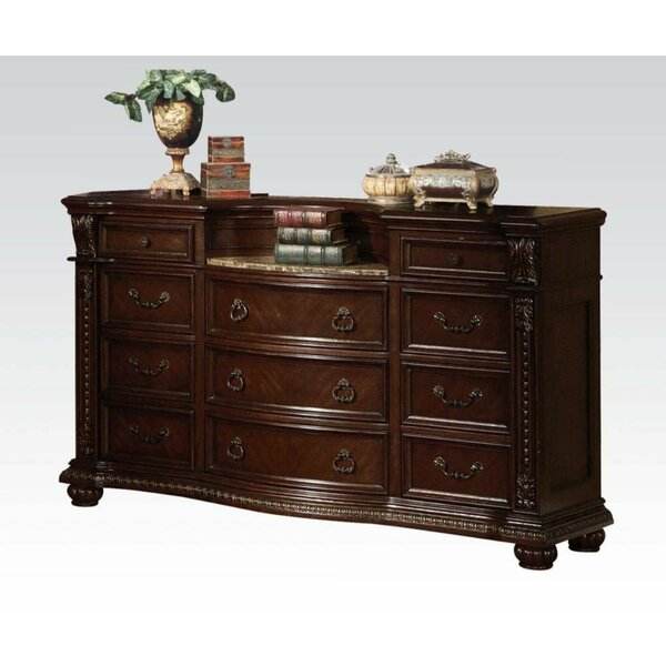 Carothers 11 Drawer Double Dresser by Astoria Grand
