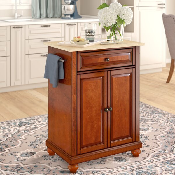 Goreville Kitchen Cart by Three Posts