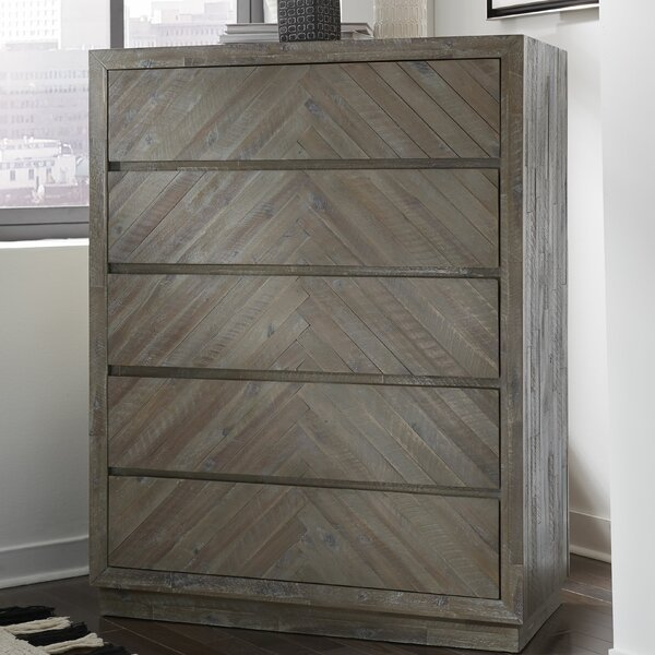Roberge 5 Drawer Dresser by Union Rustic