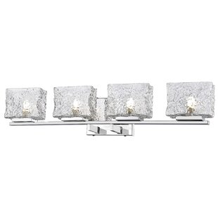 Find the perfect Selvage 4-Light Vanity Light By Orren Ellis