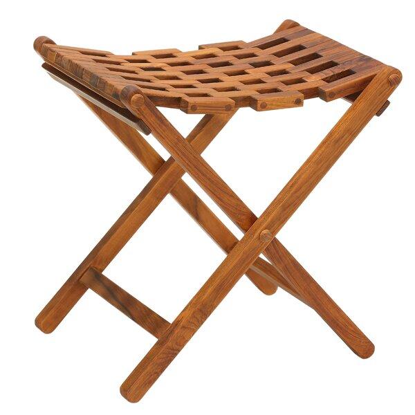 Tajana Wood Folding Chair by Highland Dunes
