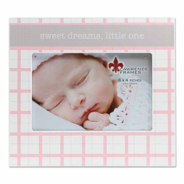 Banta Sweet Dreams Little One Picture Frame by Harriet Bee