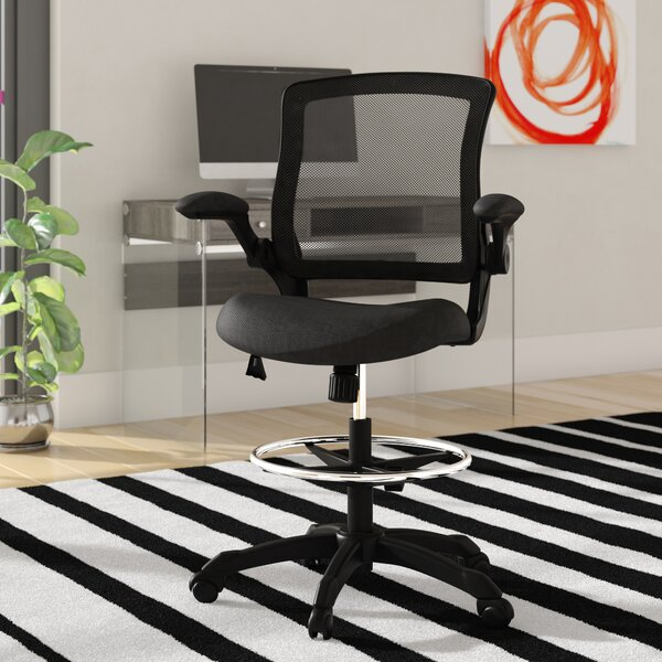 Hirst High-Back Mesh Drafting Chair by Zipcode Design