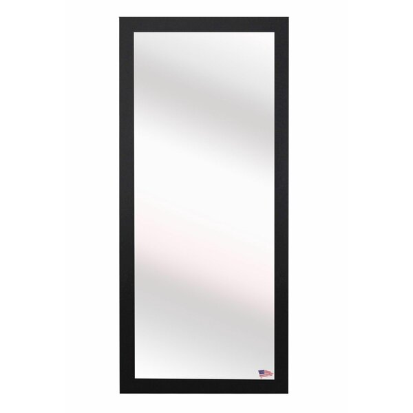 Rectangle Black Full Body Wall Mirror by Latitude Run