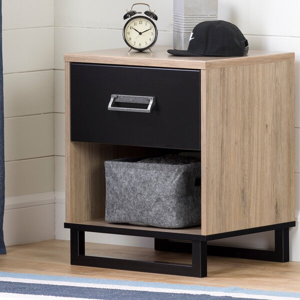 Induzy 1 Drawer Nightstand by South Shore