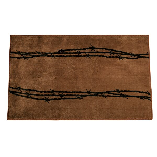 Galyean Chocolate Area Rug by Loon Peak