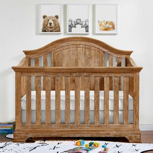 Best Price Topher 4-in-1 Convertible Crib By Mistana