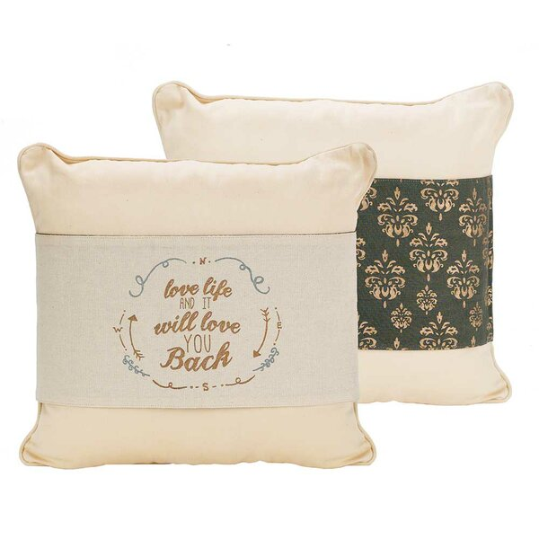 Decorative Pillow Cover (Set of 2) by Jozie B