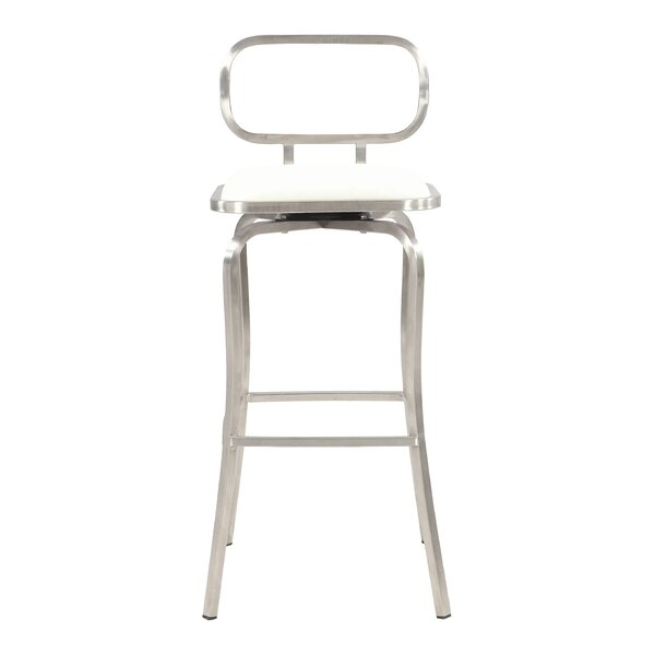 Modern 30.31 Bar Stool by Chintaly Imports