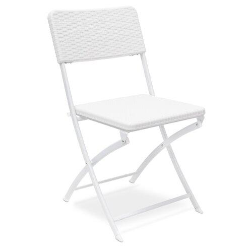 Klappstuhl Mignault ClearAmbient Farbe: Weiß | Küche und Esszimmer > Stühle und Hocker > Klappstühle | ClearAmbient