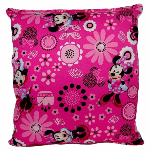 Minnie Mouse Indoor/Outdoor Throw Pillow by Versalot