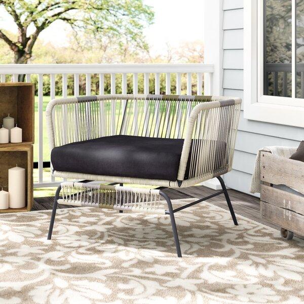 Gallup Arm Chair with Cushion by Everly Quinn