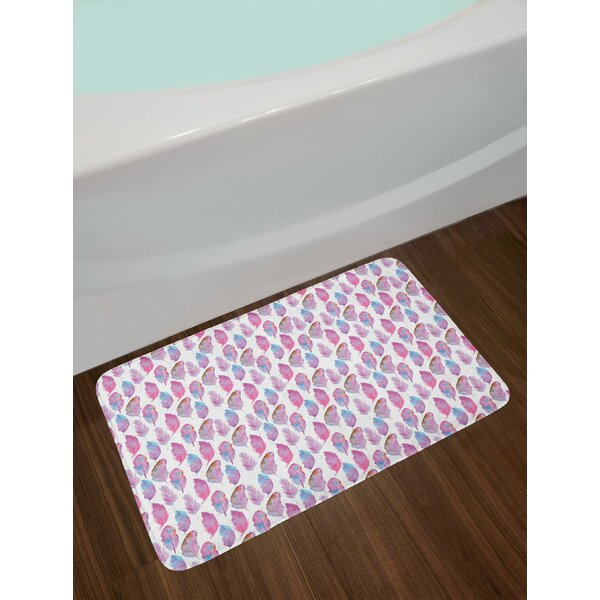 Soft Feather Bath Rug by East Urban Home