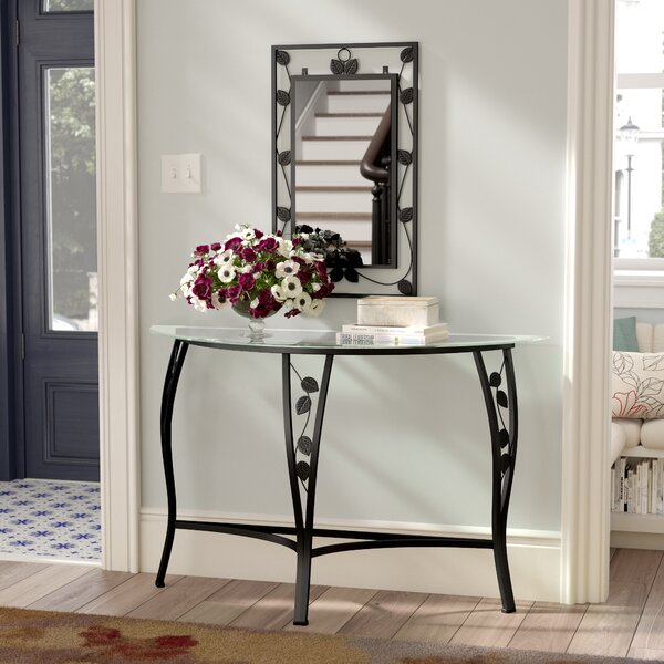 Fletcher Console Table and Mirror Set by Andover Mills