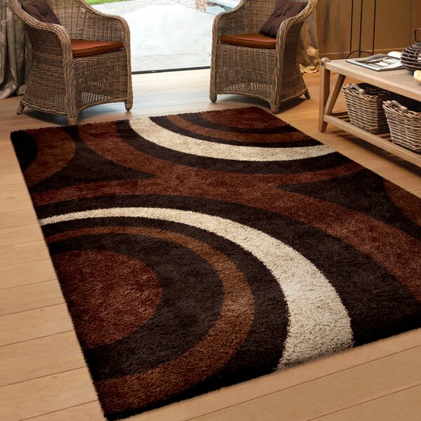 Marlborough Brown Area Rug by Threadbind