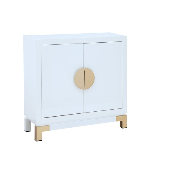 Calana 2 Door Accent Cabinet by Mercer41 Mercer41