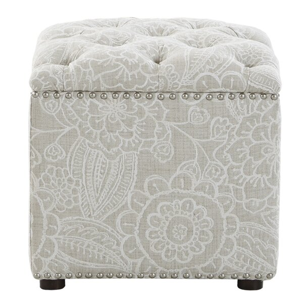 Sayler Tufted Storage Ottoman by Canora Grey
