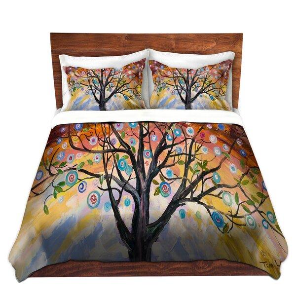 Abstract Blossom I Duvet Cover Set