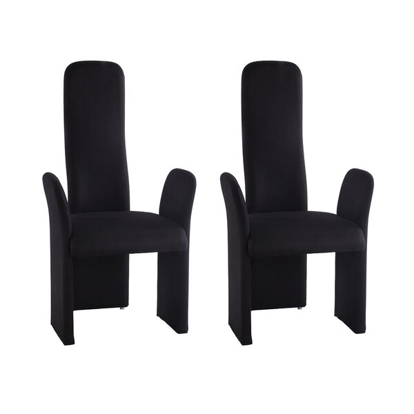 Keyla Upholstered Dining Chair (Set of 2) by Orren Ellis