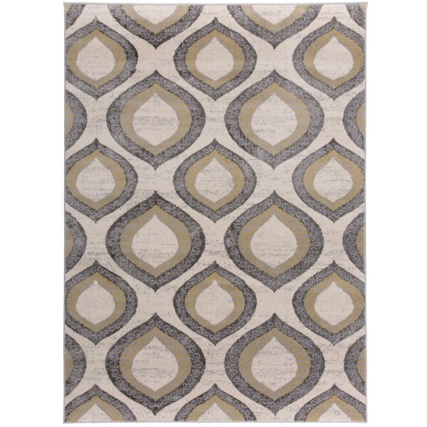 Baring Yellow Area Rug by Bungalow Rose