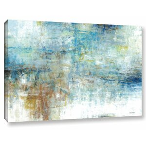 Refreshed Painting Print on Wrapped Canvas by Latitude Run