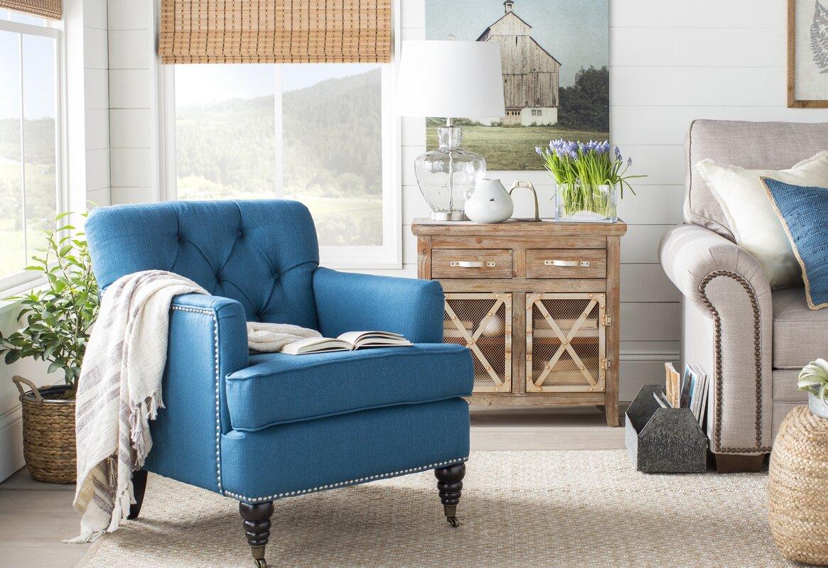 Beachcrest Home Richmond Faux Leather Brown Area Rug & Reviews | Wayfair