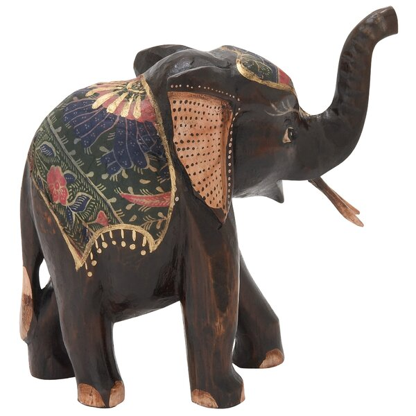 Legler Wood Elephant Figurine by World Menagerie