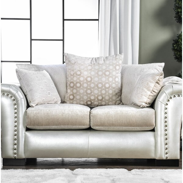 Calton Contemporary Loveseat by Latitude Run
