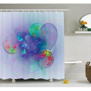 Affordable Cammi Creative Modern Design Shower Curtain ByEbern Designs