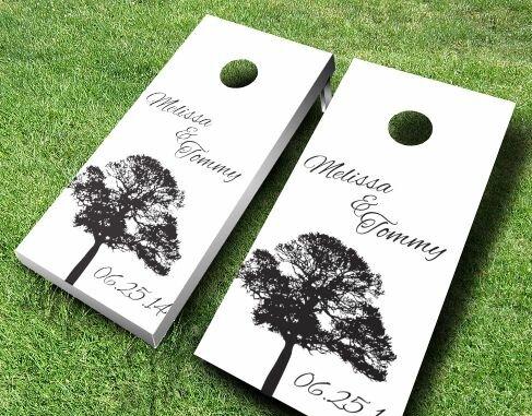 Wedding Tree Cornhole Set by AJJ Cornhole