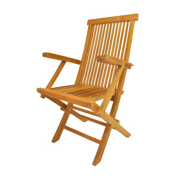 Clasic Folding Teak Patio Chair (Set of 2) by Anderson Teak