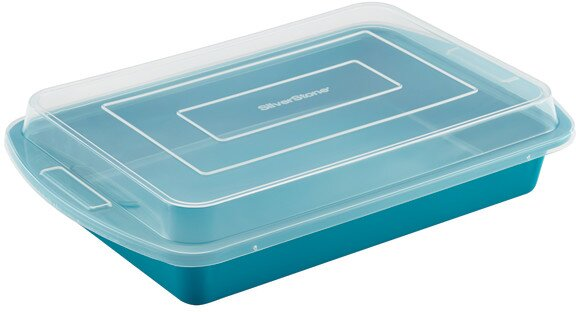 Non-Stick Rectangle Cake Pan by SilverStone
