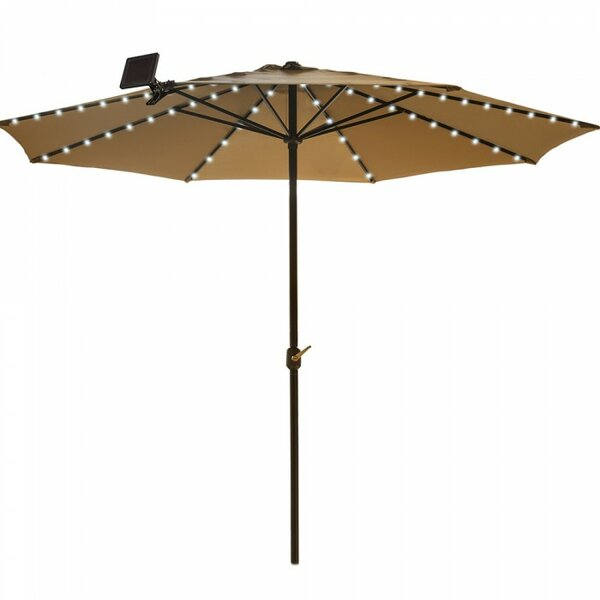 Aaron Solar Umbrella Lighting by Freeport Park