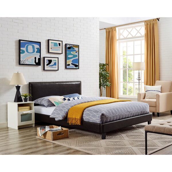 Teton Queen Upholstered Panel Bed by Winston Porter