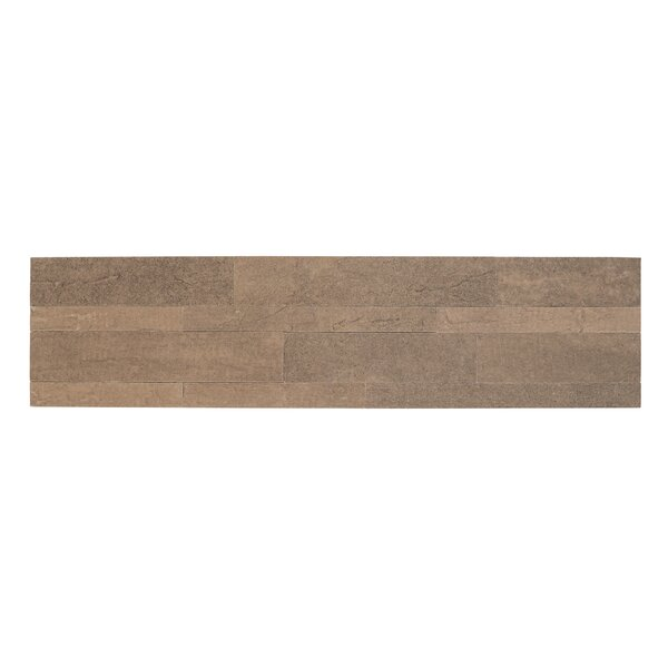 Bolder Stone 6 x 24 Mixed Material Self Adhesive Mosaic Tile in Mocha by Achim Importing Co