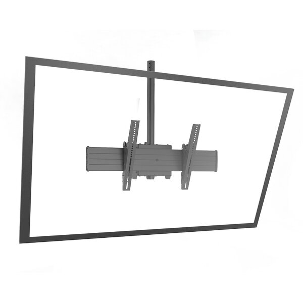 Fusion Extra Large Single Pole Ceiling Mounts Swivels for Greater than 50 Flat Panel Screens by Chief Manufacturing