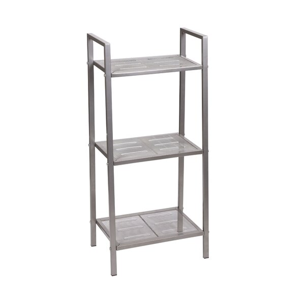 Free-Standing Three Shelf Etagere by Household Essentials