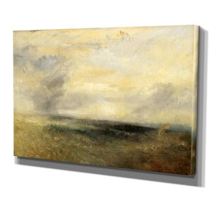 'From the Sea' by Joseph Mallord William Turner Painting Print on Wrapped Canvas by Wexford Home