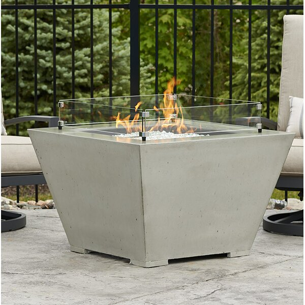 Cove Concrete Propane/Natural Gas Fire Pit Bowl by The Outdoor GreatRoom Company