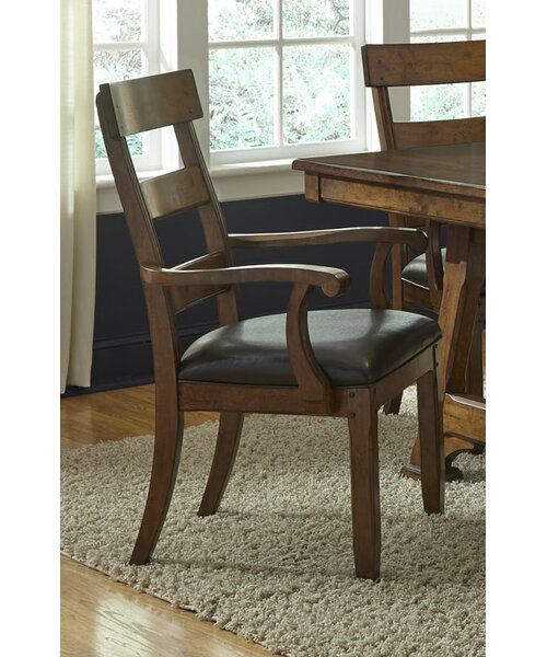 Hayashi Upholstered Arm Chair (Set of 2) by Loon Peak