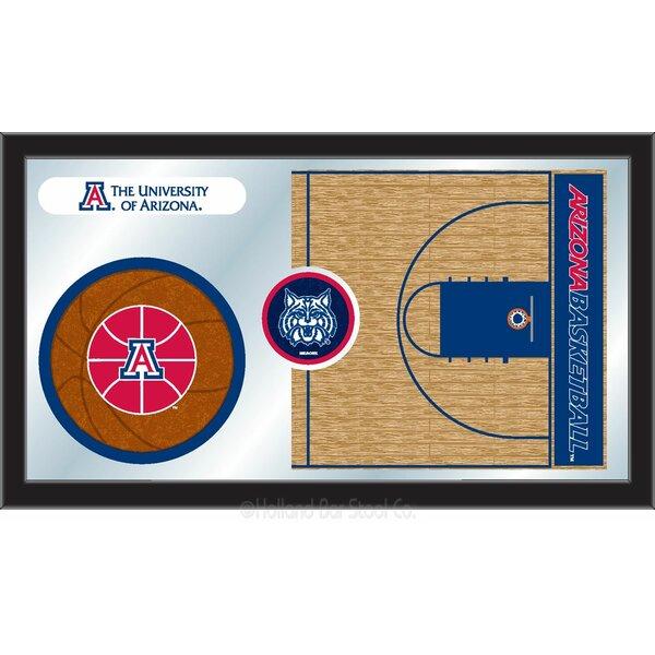 NCAA Basketball Mirror Framed Graphic Art by Holland Bar Stool